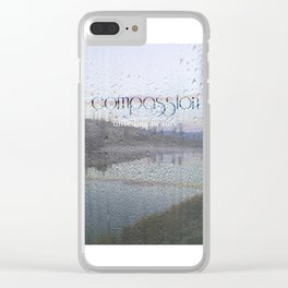 Unveiling Beauty - Compassion Clear iPhone Case