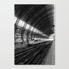Station Amsterdam Canvas Print