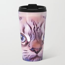 Birman The Blue Eyed Cat Travel Mug