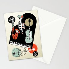 Jazz Combo Stationery Cards
