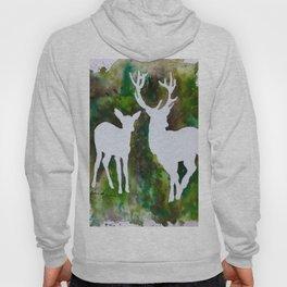 Deer silhouette Hoody