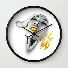 Dipped In Ivory Wall Clock