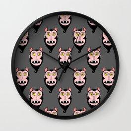 Little Devils Wall Clock