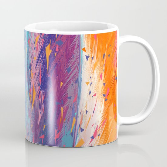 Colorful Fire Mug