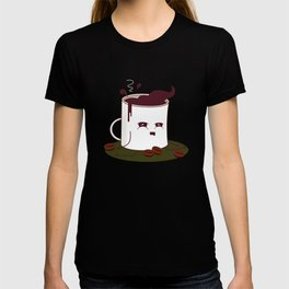 Coffee Mug Addicted To Coffee pattern T-shirt
