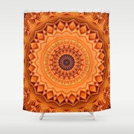 Mandala strong relationship Shower Curtain
