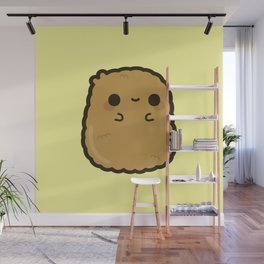 Cute chicken nugget Wall Mural