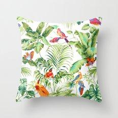 Summer lovers Throw Pillow