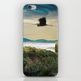 With No New Nest in Which to Settle. iPhone Skin