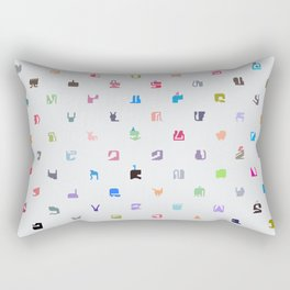 Everything and Everyone Rectangular Pillow