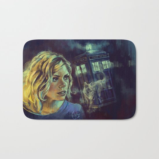 Rose Tyler as Bad Wolf - Doctor Who Bath Mat