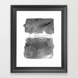 Empty Sky Framed Art Print