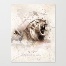 Suffer Canvas Print
