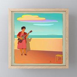 Aunt Pilar Framed Mini Art Print
