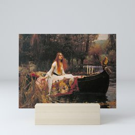 THE LADY OF SHALLOT - WATERHOUSE Mini Art Print