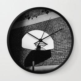 Los Angeles Basketball Wall Clock