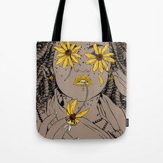 black eyed susan Tote Bag