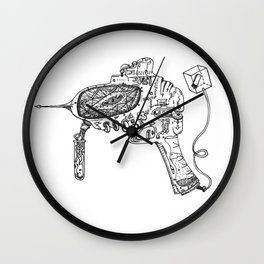 Raygun #3 Wall Clock