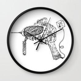 Raygun #3 Wall Clock