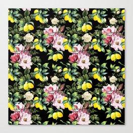 Botanical Pattern Canvas Print