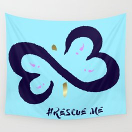 Rescue Me Minimal Wall Tapestry