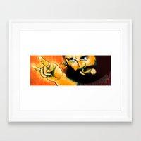 heavy metal Framed Art Prints featuring Heavy Metal by Toni Caputo