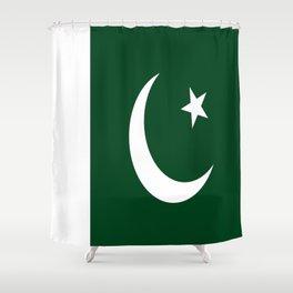 Flag of Pakistan Shower Curtain