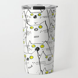 All Cat Eyes Are On You Travel Mug
