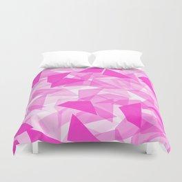 Pink Geo  Duvet Cover