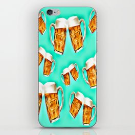 Blue forever beers iPhone Skin