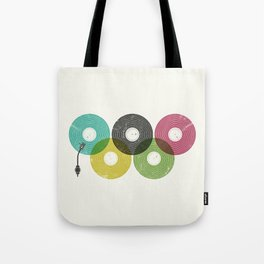 Olympic Records Tote Bag