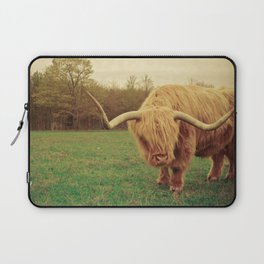 Scottish Highland Steer - regular version Laptop Sleeve