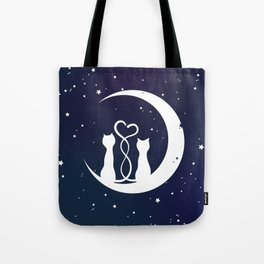 Loving Cats Tote Bag