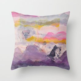 Channeling the Southwest Throw Pillow