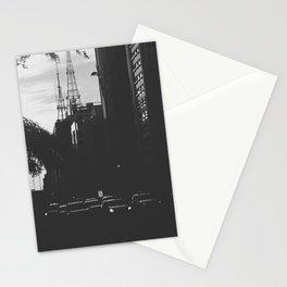 Paulista Avenue B/W Stationery Cards