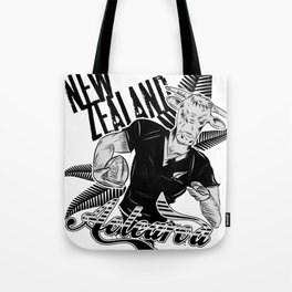 Rugby Cow Tote Bag