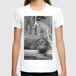 Hippo's and Giraffe T-shirt