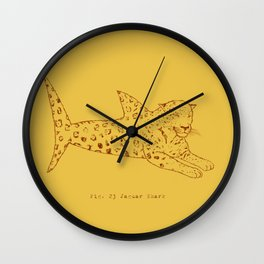 Jaguar Shark Wall Clock