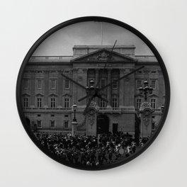Retro UK England London Old Guard Buckingham Palace 1970 Wall Clock