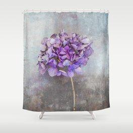 Beautiful Lilac Hydrangea Shower Curtain