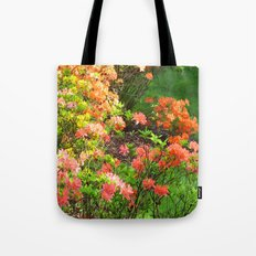 Colourful flowers Tote Bag