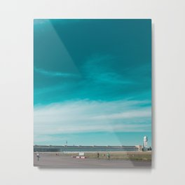 Tempelhofer Feld, Berlin Metal Print