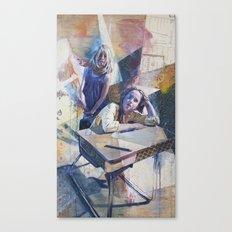 Customers Canvas Print