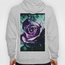 purple violet rose Hoody