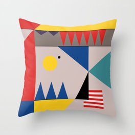 LANDSCAPES FROM THE PAST Throw Pillow