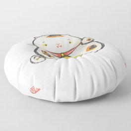 Maneki Neko [Special Lucky Toy Box] Floor Pillow