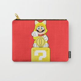 Lucky Cat Mario Carry-All Pouch