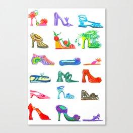 FENG SHOE Canvas Print