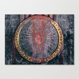 Circle vintage Canvas Print