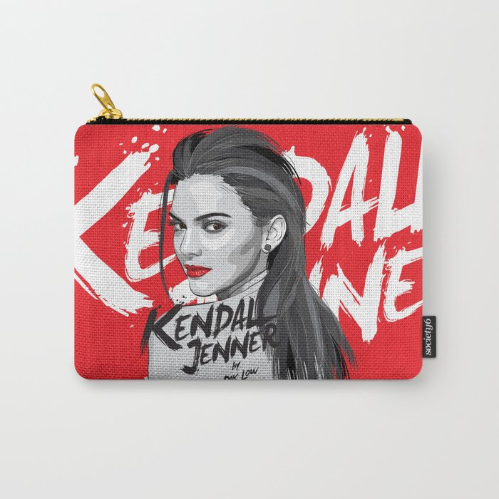 8e0f3835a486 Kendall Jenner Carry-All Pouch by diklow | Society6